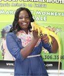 Iguana on hands