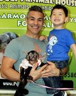 son and Capuchin
